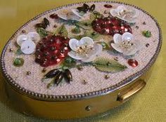 antique compact mirror - Google Search