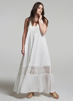 Grecian Blue Mat Fashion, Spring Summer 2015, Eminem, Cold Shoulder Dress, White Dress, Plus Size, Black And White, My Style, Casual