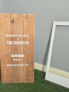 Image of Personalised frame photo booth hire