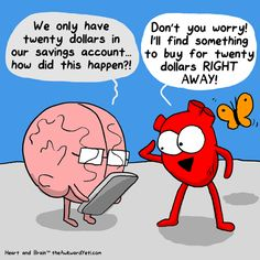 larstheyeti:  Heart save the day![preorder my first published book: Heart and Brain]