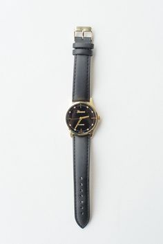 Black Stone Dotted Watch