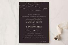 Lavish Wedding Invitations by Design Lotus at minted.com