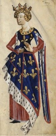 Isabella of Valois Duchess of Bourbon (1313-1383),daughter of the founder of the Valois dynasty Charles Count of Valois,son of King Phillip III of France,and Mahaut of Chattilon