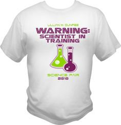 Science Fair Shirt | Year in the Making… » REVISED 2010 SCIENCE FAIR T SHIRT PROOF