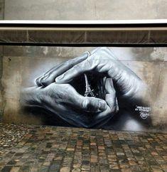 Amazing Street Art, located in Paris, France