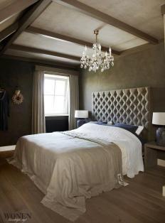 Slaapkamer landelijke stijl - verf - parket | Bedroom | Pinterest ...