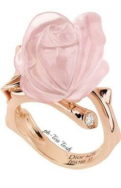 Dior Pink Passions Ring❇Téa Tosh