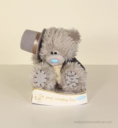 Me to You - Tatty Teddy Groom plush