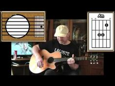 The Sound Of Silence - Simon & Garfunkel - Acoustic Guitar Lesson - YouTube