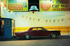 <em>Carz-a-Poppin Car, Ford Galaxie 500 (1966), Houston and Broadway, 1976.</em>