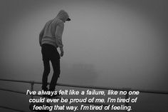 i'm tired... #suicide #selfharm #alone #tired #dead