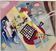 Wassily Wassilyevich Kandinsky was an influential Russian painter and art theorist. He is credited with painting the first purely abstract works. Born in Moscow, Kandinsky spent his childhood in Odessa. Art Kandinsky, Wassily Kandinsky Paintings, Abstract Words, Abstract Art, Art Bauhaus, Bauhaus Style, Bauhaus Design, Painting Prints, Canvas Prints