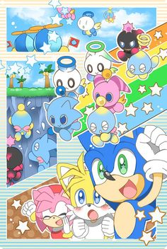 Chao! Chao are so cute!...Is there a plural for it? Anyway, I love them.