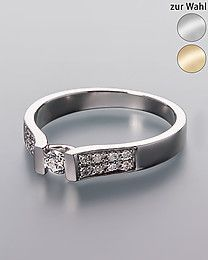 Diamond Collection Diamantring, 0,25 ct