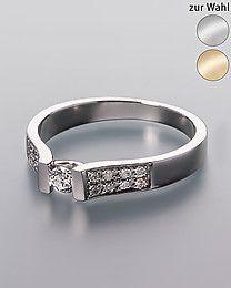 Diamond Collection Diamantring, 0,25 ct