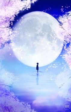 anime art print poster moon child fantasy art print moon poster fantasy poster spring poster is part of Anime art - Anime Art Print Poster Moon Child, Fantasy Art Print, Moon Poster, Fantasy Poster, Spring Poster Fantasyart Illustrations Fantasy Posters, Fantasy Kunst, Anime Fantasy, Poster Prints, Art Prints, Anime Kunst, Fantasy Landscape, Anime Scenery, Moon Art