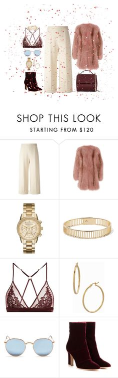 MY MOOD NEON by sana-s0 on Polyvore featuring J. Mendel, Delpozo, Fleur of England, Gianvito Rossi, Givenchy, MICHAEL Michael Kors, Arme De L'Amour, Bony Levy and Ray-Ban