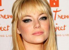 BEAUTY FRONTLINE: Celebrity Makeup Vol.2 : Emma Stone #prom eyebrows #prom lips