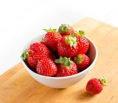Check out Beautiful fresh strawberries by Grounder on Creative Market