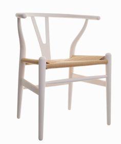Hans Wegner eetkamerstoel. Y-Chair Wishbone CH24. Design Stoelen.