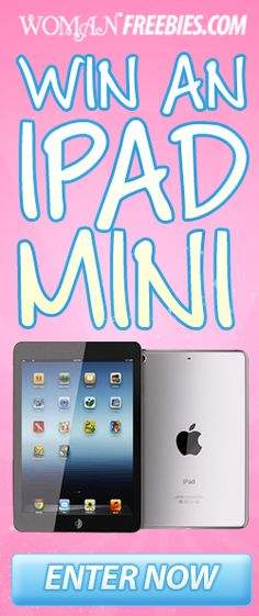 Win an iPad Mini with WomanFreebies this would be nice to win, hope you see me, Happy New Year