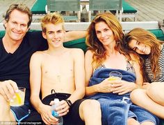 Cindy Crawford's family is absolutely stunning!