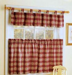 cortinas de cocina - Country Kitchen Curtains Ideas
