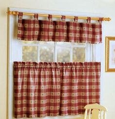 1000 images about cortinas on pinterest curtains - Cortinas para cocina rustica ...