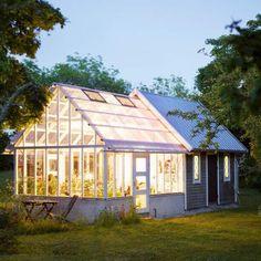 Wintergarten mit Glasdach