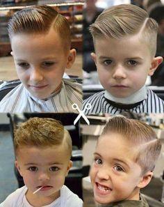 Razor Part Haircut For Boys Corte Para Meninos Детская мода - Boy haircut razor