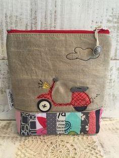 mona w.: New pouches ... neue Utensilos ...