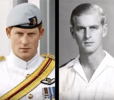 Royal Resemblance - Prince Harry and Prince Philip - have always doubted his paternity