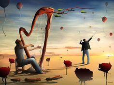 O Harpista e o Maestro. | by Marcel Caram