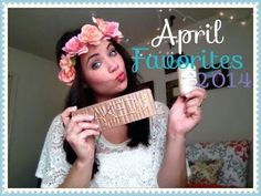 April Favorites 2014 ||  WanderBlush I LOVE PRODUCTS YES I DO I LOVE PRODUCTS HOW ABOUT YOU! Check out my April 2014 favs and you WON'T BE DISAPPOINTED!   Now that I have your attention, thank you so much for watching my monthly favorites. As you can see I love a lot of stuff this month, and I'm already making my list for May favorites!