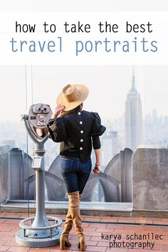 How to take the BEST portraits while traveling!