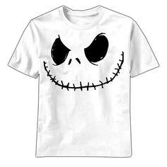 Nightmare Before Christmas Smilin Jack White T-Shirt