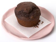 Combine a 15-ounce can of pure pumpkin with a box of devil's food cake mix. Stir until blended. Pour the batter into a 12-cup muffin pan sprayed with nonstick spray, and bake at 400°F for 20 minutes. These chocolate muffins taste just like the real thing — but have a fraction of the fat and calories!  Makes 12 servings. Each serving: 181 cal, 3.5g fat, 2g protein, 37g carb, 2g fiber