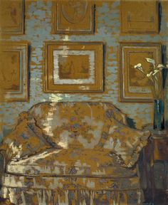 Ethel Sands (1872-1963)      The Chintz Couch, c1910      Tate Collection