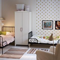 amenagement chambre double mixte | chambre enfant deco | Pinterest ...