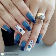 Nails gelish 40 trending early spring nails art designs and colors 2019 027 40 trending early spring nails art designs and colors 2019 027 Spring Nail Colors, Spring Nail Art, Nail Designs Spring, Spring Nails, Nail Art Designs, Hair And Nails, My Nails, Nail Color Trends, Minimalist Nails