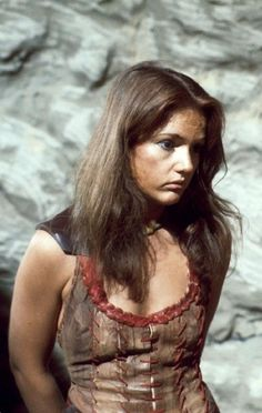 The Face of Evil. Louise Jameson as Leela in Doctor Who