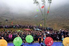 the cultural festival in Sapa
