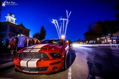 Photo taken during the Friday Night Cruise of All Wheels Weekend event (always Father's Day weekend).