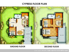 Floor Plan of Princeton Heights - Cypress Electrical Symbols, Lots For Sale, Master Plan, Model Homes, Second Floor, Ground Floor, Interior And Exterior, House Plans, Floor Plans