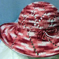 (4) Name: 'Crocheting : Shine On Sun Hat