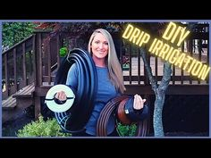 Drip Irrigation System, Permaculture, Backyard, Youtube, Diy, Gardening, Patio, Bricolage, Lawn And Garden