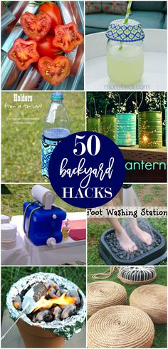 50 backyard hacks