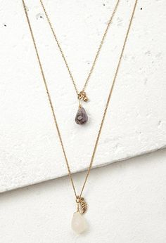 Accessories - Jewelry - Necklaces - Long + Layered | WOMEN | Forever 21