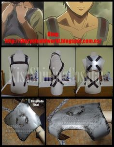 Tutorial: Backplate + Belt System from SnK by KissShiningTutorials on deviantART