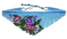 Beaded Hummingbird Small Fringe Necklace Pattern & Kit. (Click on the picture to see this item on our website). $17.95